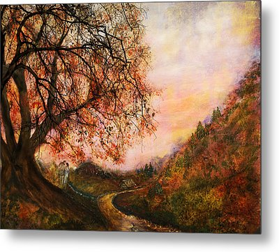 Once Upon October Metal Print