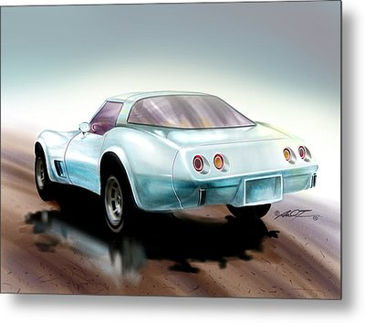 Once You Have Owned A Vette... Metal Print