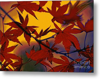One Autumn Evening By Kaye Menner Metal Print