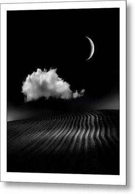 One Cloud Metal Print by Mal Bray