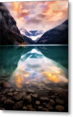 One Colorful Moment  Metal Print