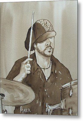 One Eyed Pete Metal Print by Pete Maier