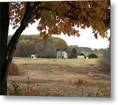 One Fall Day Metal Print by Gordon Beck