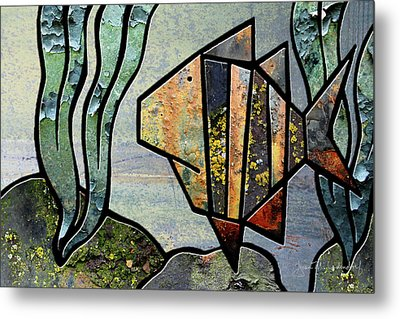 One Fish Metal Print