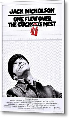 One Flew Over The Cuckoo's Nest Metal Print