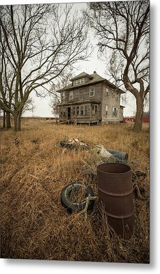 Metal Print featuring the photograph One Man's Trash... by Aaron J Groen