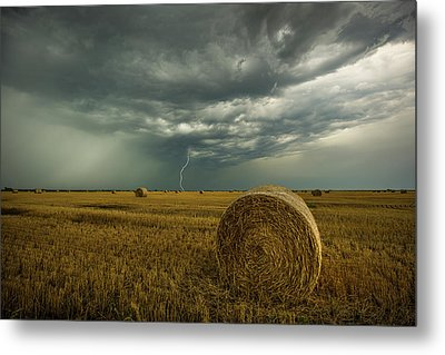 Metal Print featuring the photograph One More Time A Round by Aaron J Groen