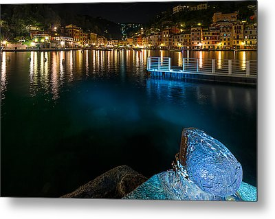 One Night In Portofino - Una Notte A Portofino Metal Print