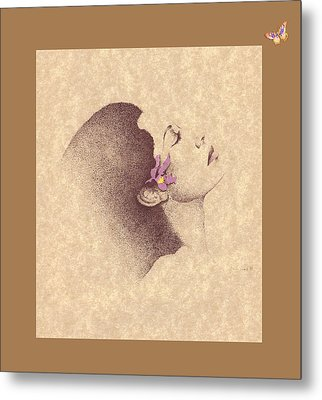One Of A Kind Me  Metal Print by Albert Fennell