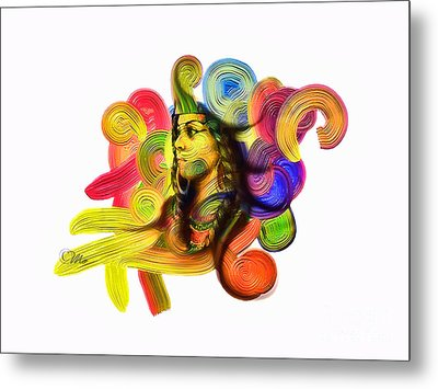 One Part 1 Metal Print by Mo T