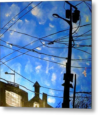 One Philly Sky Metal Print