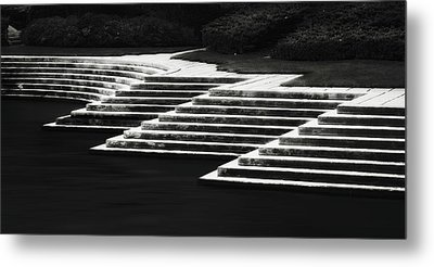 Metal Print featuring the photograph One Step At A Time by Eduard Moldoveanu