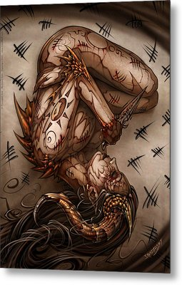 One Thousand Sins Metal Print by David Bollt
