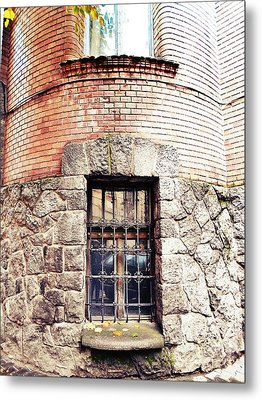 One Window And A Half Metal Print