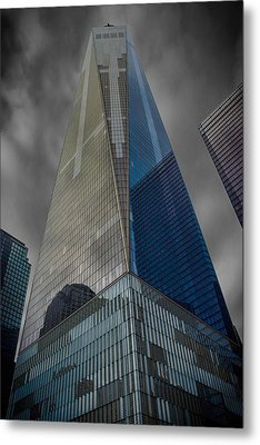 One World Observatory Ny Metal Print