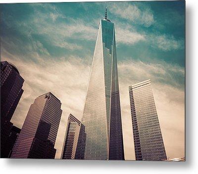 One World Trade Center New York City Metal Print by Robert Bellomy