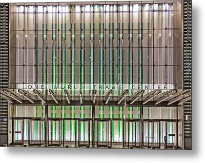 One World Trade Center Wtc Metal Print by Susan Candelario