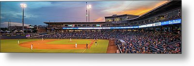 Oneok Stadium Panoramic - Tulsa Drillers - Tulsa Oklahoma Metal Print