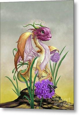 Onion Dragon Metal Print