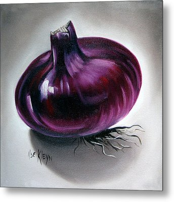 Onion Metal Print by Ilse Kleyn