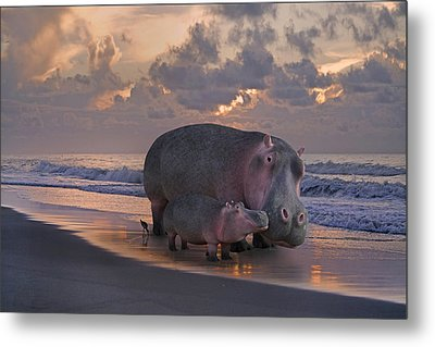 Only On Topsail The Best Kept Secret Metal Print by Betsy Knapp