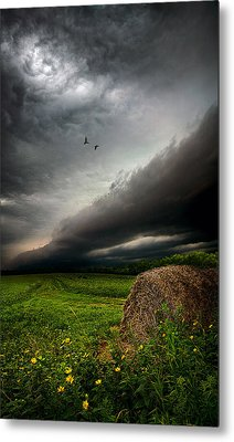 Only Time Metal Print by Phil Koch