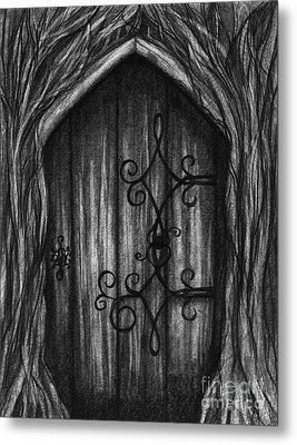 Open A New Door Metal Print
