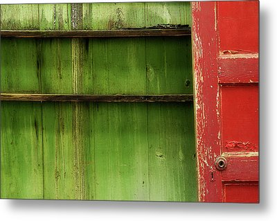 Metal Print featuring the photograph Open Door by Mike Eingle