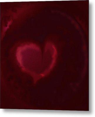 Open Heart Metal Print by Eileen Shahbazian