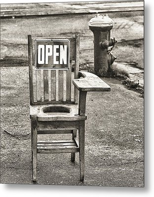 Open Metal Print by Jeffrey Jensen