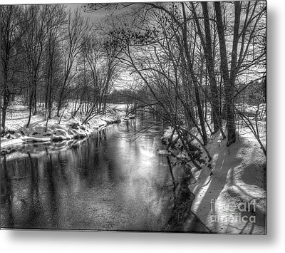 Open River Metal Print by Betsy Zimmerli