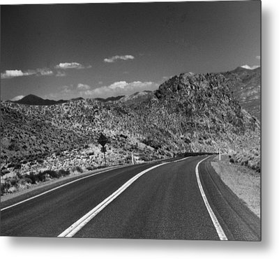 Open Road - Nevada Metal Print by Ann Tracy
