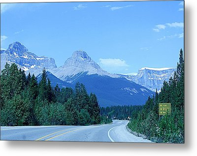 Metal Print featuring the photograph Open Road by Al Fritz