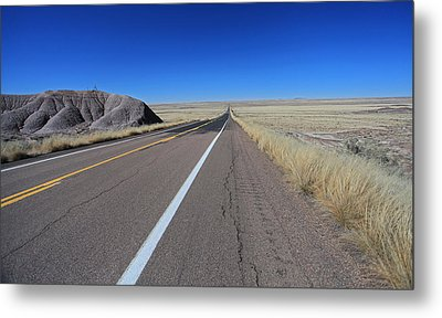 Metal Print featuring the photograph Open Road by Gary Kaylor