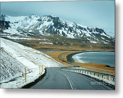 Open Road Metal Print by Svetlana Sewell