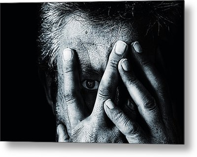 Open The Sadness Metal Print by Stefan Eisele