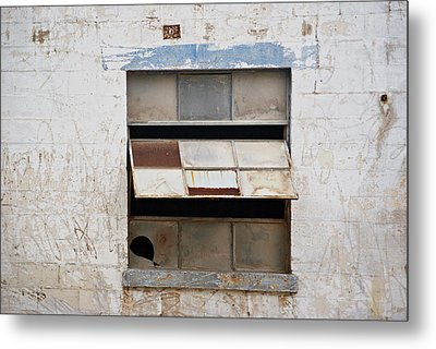 Opened Window Metal Print