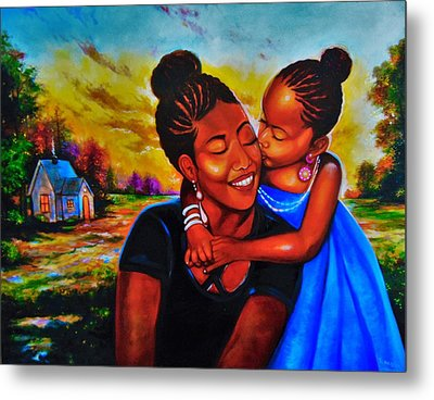Open Your Eyes To Life Metal Print by Emery Franklin