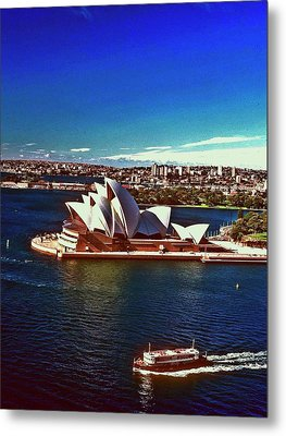Metal Print featuring the photograph Opera House Sydney Austalia by Gary Wonning