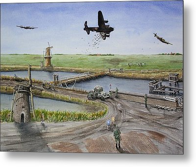 Operation Manna IIi Metal Print by Gale Cochran-Smith