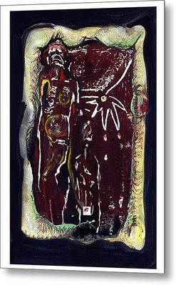 Metal Print featuring the painting Opportunity by Carol Rashawnna Williams
