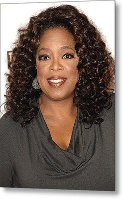 Oprah Winfrey At Arrivals For The Metal Print by Everett
