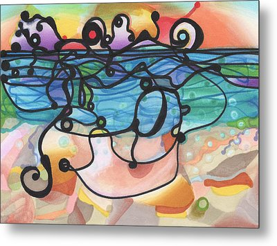 Optimism Metal Print by Regina Valluzzi