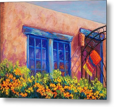 Orange Berries Metal Print by Candy Mayer