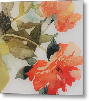 Orange Blossom Special Metal Print by Elizabeth Carr