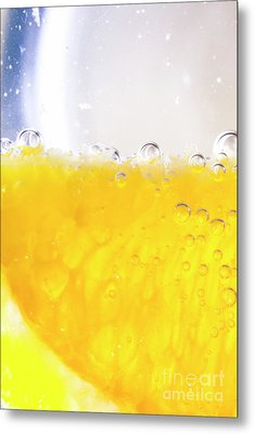 Orange Cocktail Glass Metal Print by Jorgo Photography - Wall Art Gallery