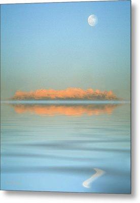 Orange Fog Metal Print by Jerry McElroy