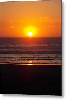 Orange Madness Metal Print by Angi Parks
