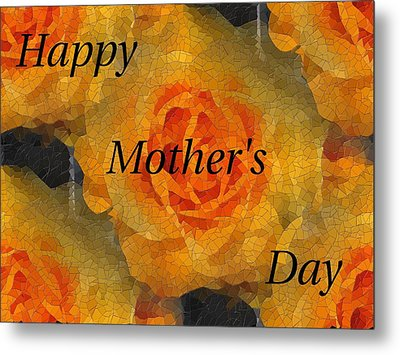 Orange You Lovely Mothers Day Metal Print by Tim Allen