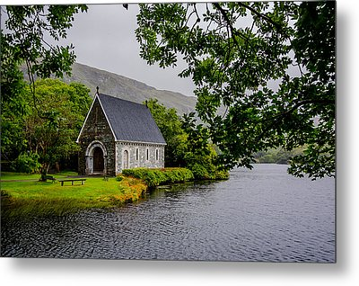 Oratory In Gougane Barra National Park In Ireland Metal Print